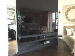 drehbare tv wand als raumteiler bauanleitung zum