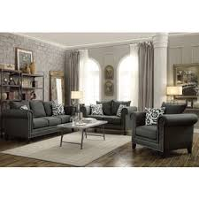 Levon Charcoal Sofa And Loveseat by Signature Design By Ashley Levon Charcoal Fabric Loveseat Free
