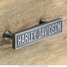 harley davidson bar font cabinet drawer pull kitchen and bath