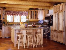 Log Cabin Kitchen Cabinet Ideas by Log Cabin Kitchens With Modern And Rustic Style Homestylediary Com