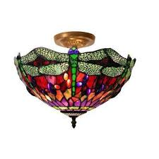 Home Depot Tiffany Lamp by Warehouse Of Tiffany Table Lamps Lamps The Home Depot