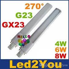 best ce rohs ul g23 gx23 led pl bulbs light cri 85 high power 4w
