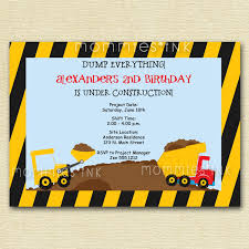 Construction Birthday Invitation, Construction Birthday Party ... Dump Truck Baby Shower Invitation Hitachi Eh5000 Aciii Gold 187 Trucks Pinterest Cstruction And Tiaras Sibling Birthday Invitations Printed Invites Heavy Equipment Free Christmas Templates New Party Images Of Garbage Design Lovely Invite Digital Clipart Truck Cement Bulldoser Perfect Mold Card Printable Diy Boy Mama A Trashy Celebration Day The Dead Cam Newton In Car Crash With
