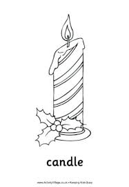 candle coloring sheet candle colouring page printable birthday candles coloring pages