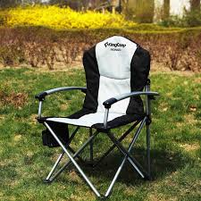 openbox kingc heavy duty hard arm padded steel folding chair
