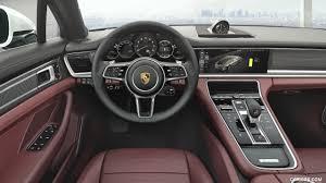 2017 Porsche Panamera 4 E Hybrid Executive Interior Cockpit