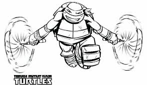 Full Image For Ninja Turtles Coloring Pages Games Free Online