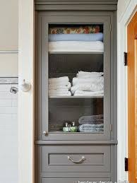 Built In Bathroom Linen Cabinets Home Design Ideas Cabinet Ikea