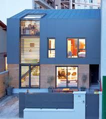 maison de ville à architecture bois magazine maisons