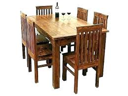 Unusual Craftsman Style Dining Room Table Mission Set Chairs Arts Crafts