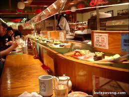 cuisine fran ise isobune sushi the original sushi boat restaurant san francisco ca