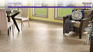 No Grout Luxury Vinyl Tile by Sistine Engineered Stone Bisque D4151