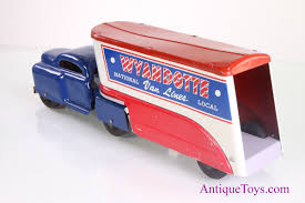 Wyandotte Moving Truck Toy With Box For Sale - Antique Toys For Sale Wooden Race Car Transporter With Two Race Cars Ikonic Toys Whosale Monster Truck With Remote Control For Children Pump Action Garbage Air Series Brands Products Amazoncom Green Dump In Yellow And Red Bpa Free Push And Go Cement Mixer Toy Lights Sound Friction Tonka 70cm 4x4 Off Road Hauler Dirt Bikes Alex Jr Busy Fire Alexbrandscom Funrise Toughest Mighty For Unboxing Playing Announcing Kelderman Suspension Built Trex Tonka Original Huina Toys No1520 24g 6ch Mini Rc Bulldozer Eeering