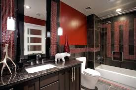Red And Black Bathroom Rug Set by Red Black And Gray Bathroom Rugs U2013 Luannoe Me