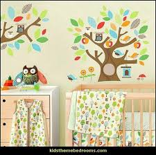 Owl Bedroom Wall Stickers by 81 Best Mural Playschool Ideas Images On Pinterest Flower Mural