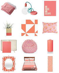 Coral Colored Decorative Items by Decorating Your Home With Coral U2013 Colorbee