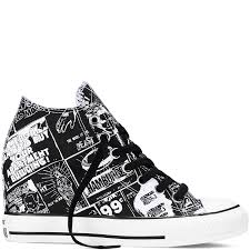 100 Star Lux Chuck Taylor All Wedge Andy Warhol Converse My Style