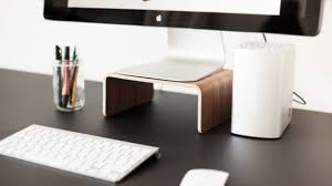 Imac Monitor Desk Mount by Sustainable Pleasure And Comfort On The Desk