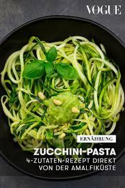 zucchini pasta probieren sie dieses 4 zutaten rezept direkt