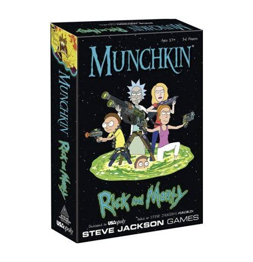 Munchkin Rick and Morty Classic Card Dice Board Game