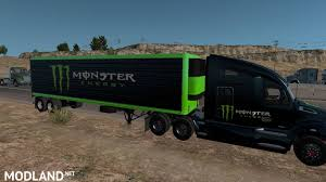 Kenworth T680 Monster Energy Mega Pack Mod For American Truck ... Monster Energy Chevrolet Trophy Truck2015 Gwood We Heart Sx At Sxsw 2017 Monster Energy Trailer Standalone V10 Ets2 Mods Euro Truck Highenergy Trucks Compete In Sumter The Item Monster Energy Pinterest 2013 King Shocks Hdra 250 Youtube Ballistic Bj Baldwin Recoil 2 Unleashed Truck Stock Photos Building 4 Jprc Gs2 Rc Pro Mod Trigger Radio Controlled Auto 124 Offroad Auto Jopa
