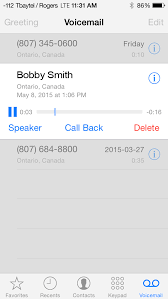 Apple Visual Voicemail