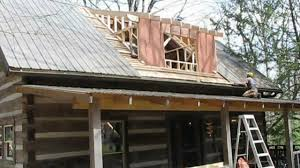 Shed Dormer Plans by Mountain Cabin Renovation Vlog 12 Dormer Framing And Stair