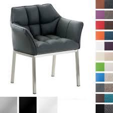 details zu esszimmerstuhl octavia mit armlehne sessel stuhl loungesessel kunstleder stoff