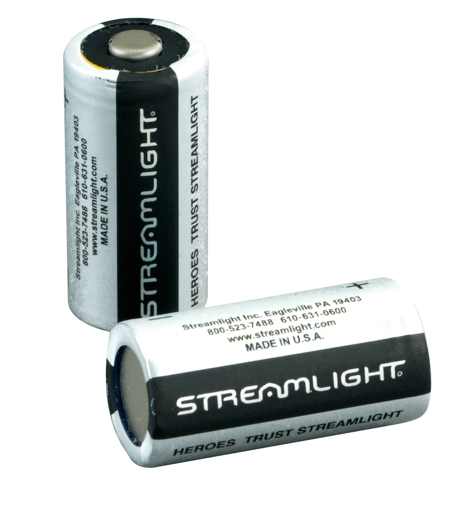 Streamlight Lithium Battery - 2pk, 3V