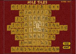 nile tiles mahjongg play free online mahjong games