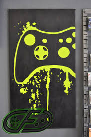 I Could Totally Paint This For His Room XBOX 360 Video Game Painting By ControlFreakGameArt On Etsy