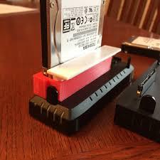 Seagate Goflex Desk Driver by 3d Print A Seagate Goflex Dock Adapter For 2 5