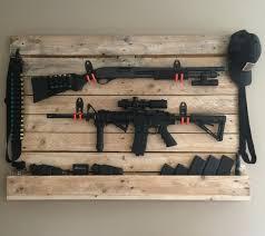 Diy Gun Cabinet Plans by Pallet Gun Rack Guns N Knives Pinterest Guns Pallets And