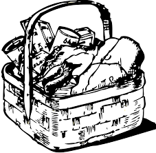 1969x1924 Basket of Food Clipart 42