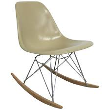 100 Eames Style Rocking Chair Side Shell At 1stdibs