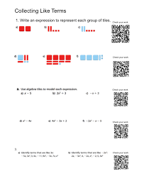 Virtual Algebra Tiles For Ipad by Qr Code Answers The New Back Of The Book Mr Orr Is A Geek Com
