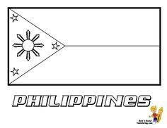 Philippines Flag Coloring Page 5 German You Have All 195 International Flags