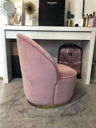 samt hocker hocker samt stuhl mit lehne rosa hocker