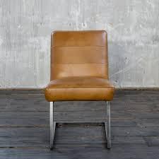 kawola esszimmerstuhl sali freischwinger vintage leder braun kaufen otto