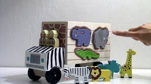 100 Melissa And Doug Trucks Wooden Toy Animal Truck By And YouTube