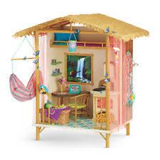 2016 American Girl Doll Lea Rainforest House Furniture Hut