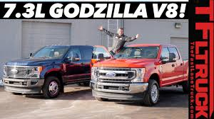 100 Diesel Truck Vs Gas A Close Look At The 2020 Ford Super Duty 73L V8 And