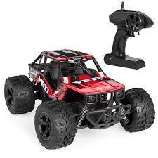 100 Monster Truck Remote Control 120 24GHz 25kmh Red