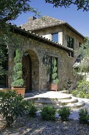 Tuscan Hillside Home Barn
