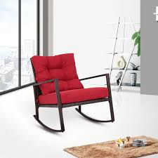 Shop For Kinbor Rattan Rocker Chair Outdoor Garden Rocking ... Sculptural Swedish Grace Mohair Rocking Chair Mid Century Swivel Rocker Lounge In Pendleton Wool Us 1290 Comfortable Relax Wood Adult Armchair Living Room Fniture Modern Bentwood Recliner Glider Chairin Chaise Bonvivo Easy Ii Padded Floor With Adjustable Backrest Semifoldable Folding For Meditation Stadium Bleachers Reading Plastic Contemporary The Crew Classic Video Available Pretty Club Chairs Chesterfield Rooms Pacifica Coastal Gray With Cushions Kingsley Bate Sag Harbor Chic Home Daphene Black Gaming Ergonomic Lounge Chair