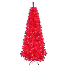 7ft Fiber Optic Christmas Tree by Pre Lit Pink Christmas Tree Christmas Lights Decoration