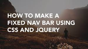 How To Make A Fixed Nav Bar Using CSS   Code Example - YouTube Bootstrap Blue Template Fixed Sidebar Header Inowxpmid9 How To Make A Responsive And Fixed Navbar Using Html Css Code Quick Tip Code Scrolling Navigation Bar The Most Popular Html Css Js Framework In The World Helpdocs Support Fding Selectors From Your Browser Javascript Menu Navigation Stack Sticky Header Visible When Scrolling On Mobile Es En Floating Top Css Jquery Menu Lawrahetcom Html Aligning Menus In Html5 Metronav Metro Ver By Sohn Codecanyon 15 Cool Rainbow Chocolates