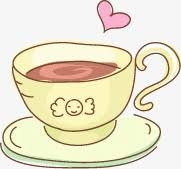 Heart Shaped Coffee Cup Clipart Cartoon PNG Image And