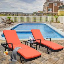 Amazon.com : LEAPTIME Patio Lounge Chair 3pcs Outdoor Loungers Black ... Commercial Pool Chaise Lounge Chairs Amazoncom Great Deal Fniture 295530 Eliana Outdoor Brown Wicker 70 Most Popular For 2019 Camaxidcom Swimming Pool Deck Chair Blue Wheeled Chaise Longue Vector Image With Shallow Lounge Chairs Submersed In Water Orbital Zero Gravity Folding Rocking Patio Chair Pillow Diy And Howto Video Shanty 2 Chic Ottawa Wondrous Design In Johns Flat For Your Poolside Stock Image Of Color Vertical 15200845 A Five Star Hotel Keralaindia