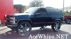 Ace-1: WTW Customs- 2DR Chevy Tahoe On 30